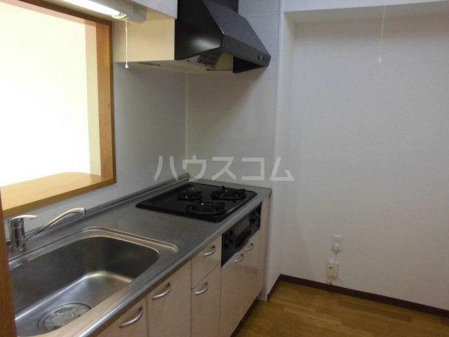 アヴニール 205号室のキッチン