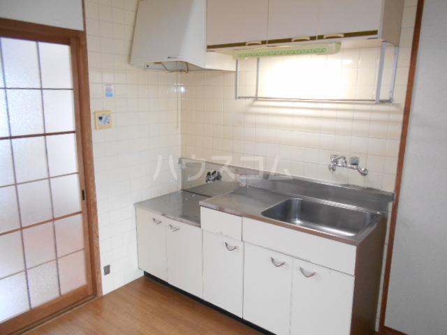 第1サンハイツ戸崎 203号室のキッチン