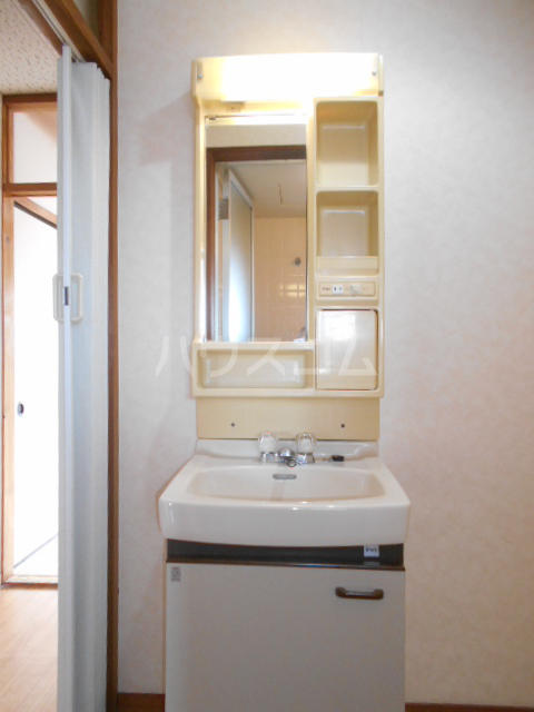 第1サンハイツ戸崎 203号室の洗面所