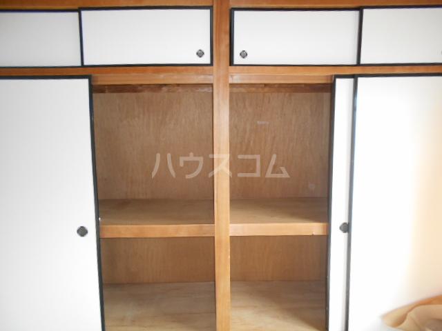 第1サンハイツ戸崎 203号室の収納
