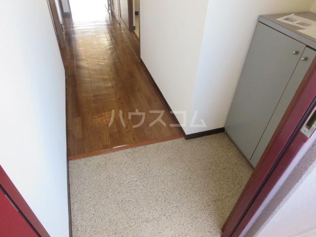 カーサ薬師寺 6D号室の玄関