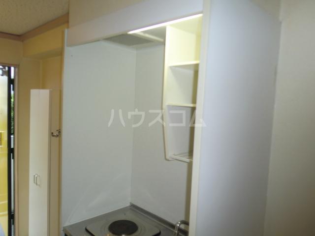 ルミエール野村 205号室のキッチン