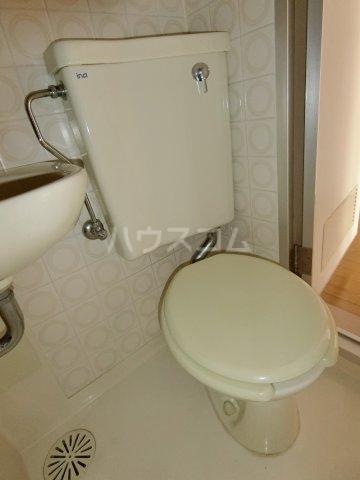岐阜キャッスルビルB棟 1106号室のトイレ