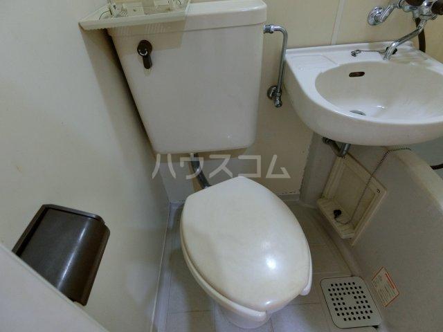 パレス忠節 105号室のトイレ
