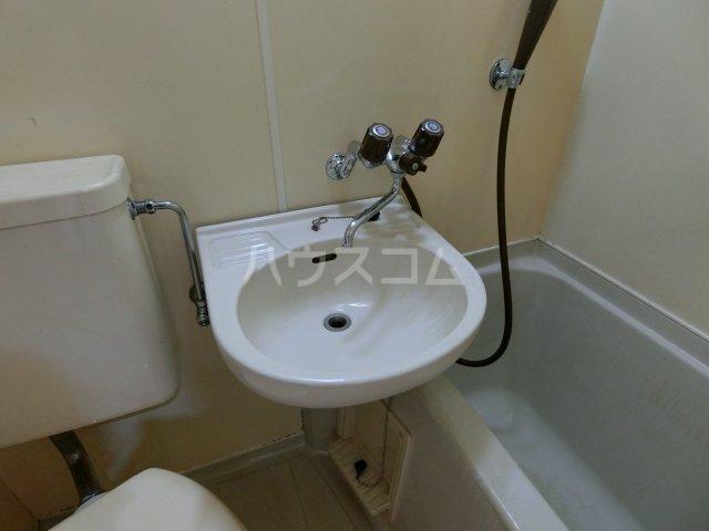 パレス忠節 105号室の洗面所
