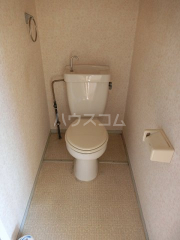 ホワイトハウス セブン B201号室のトイレ