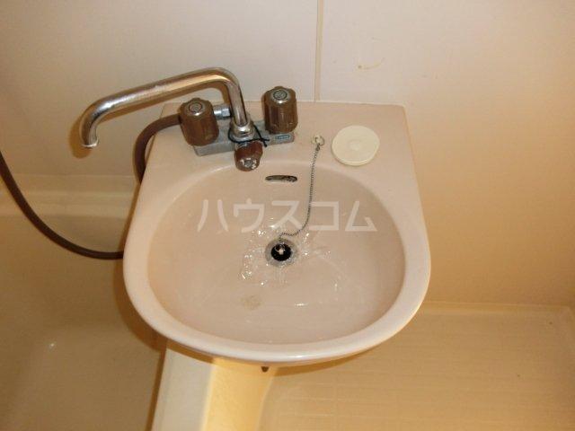 ホワイトハウス セブン B201号室の洗面所