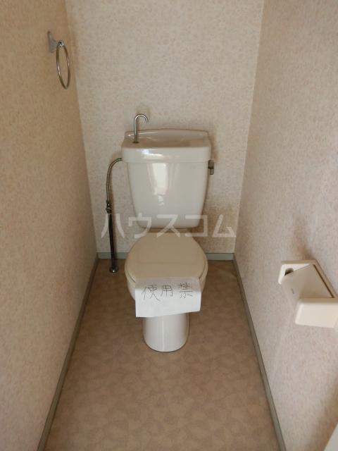 ホワイトハウス セブン B202号室のトイレ