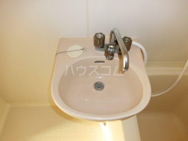 ホワイトハウス セブン B202号室の洗面所