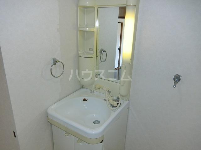 ベルセジュール B-201号室の洗面所