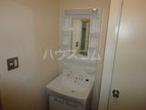 コーポアイランド 103号室の洗面所