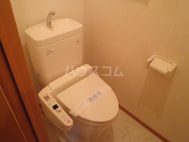 大和の里C 202号室のトイレ