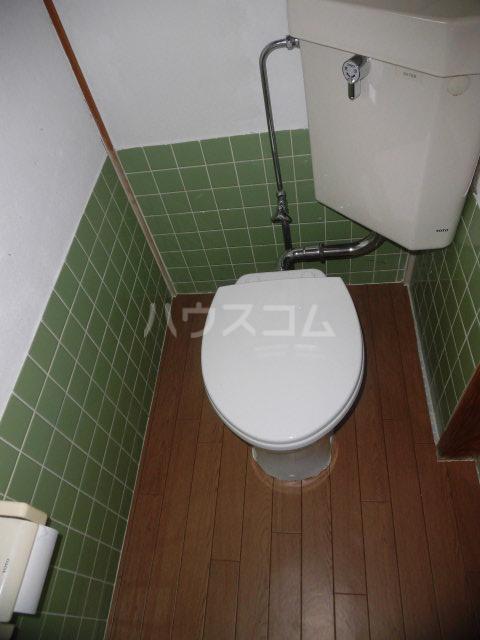 浜一色町借家のトイレ