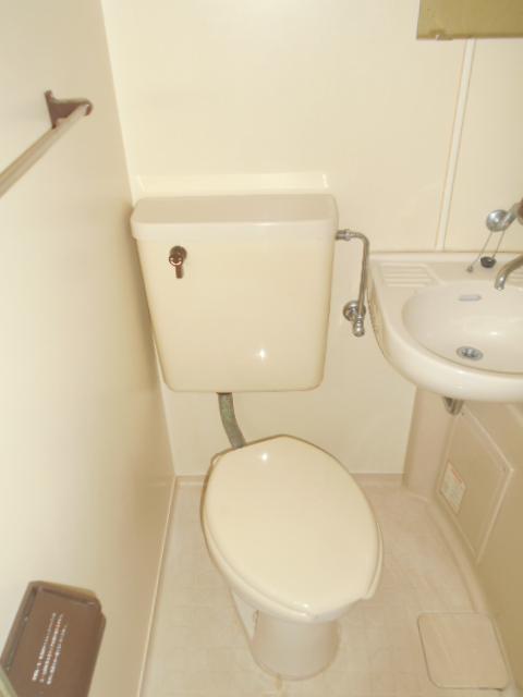 サンクレウェンズⅠ 1B号室のトイレ