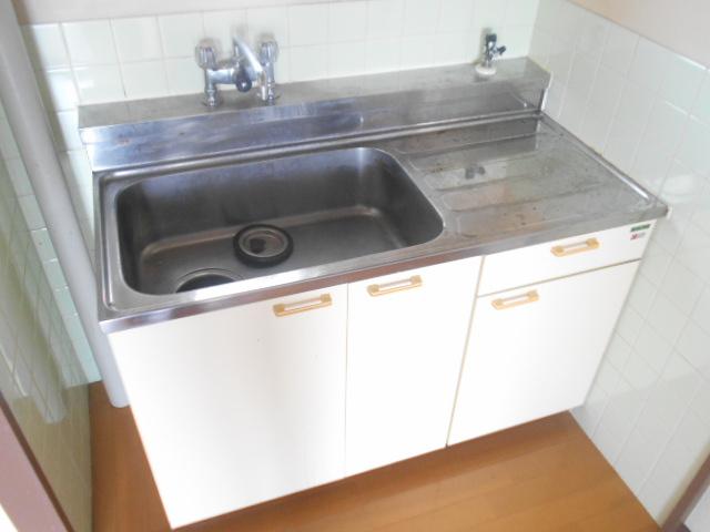 サンクレウェンズⅠ 1B号室のキッチン