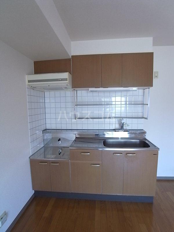 ハイムコターナⅡ 101号室のキッチン