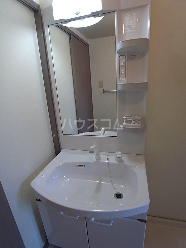 ハイムコターナⅡ 101号室の洗面所