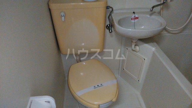 マンションレジーナ 205号室のトイレ