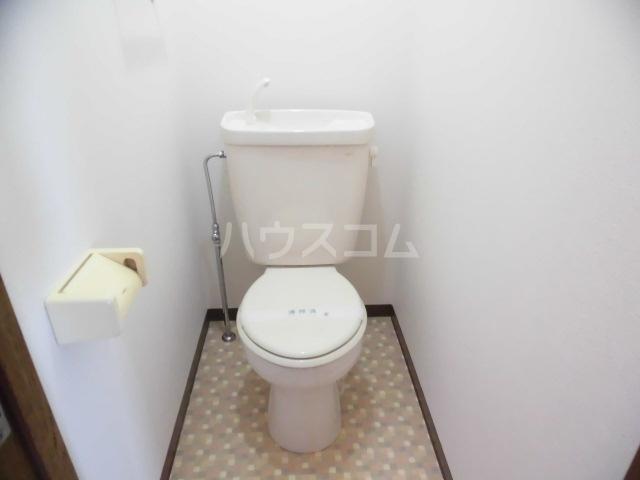 ハッピネス 305号室のトイレ