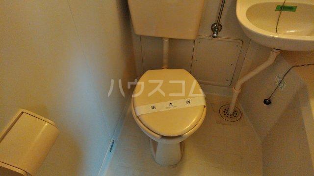 メルヘン渡辺 201号室のトイレ