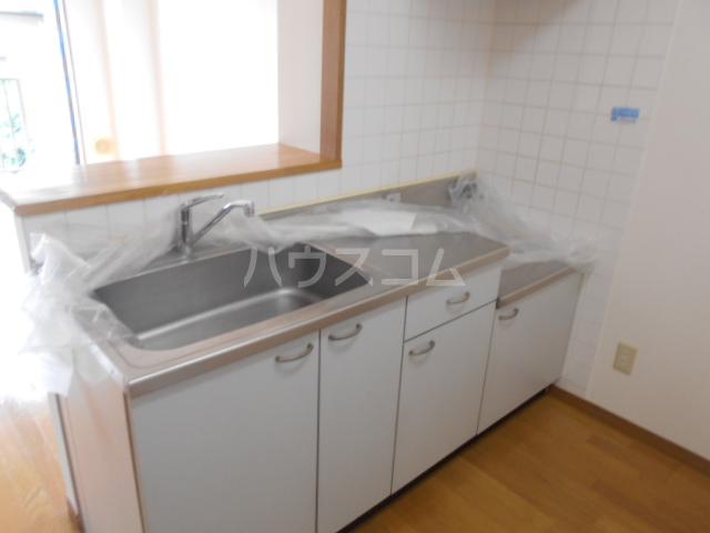 ヴァンベールS 203号室のキッチン