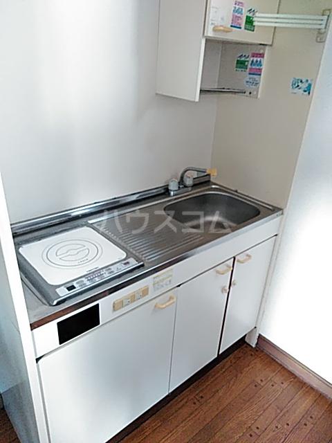 ハイツ三木 201号室のキッチン