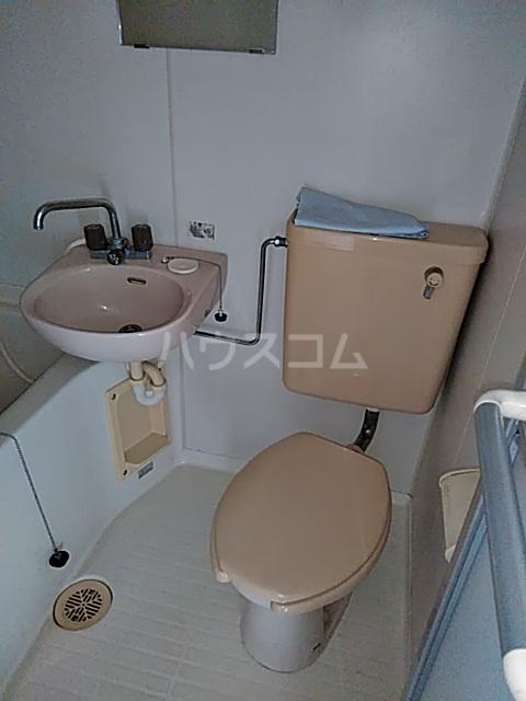 ハイツ三木 201号室のトイレ