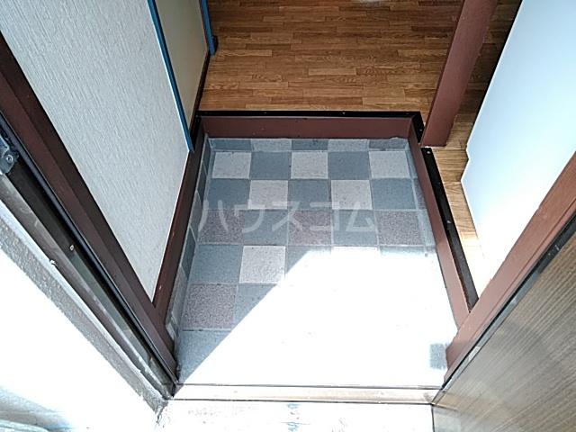 ハイツ八木下 7号室の玄関