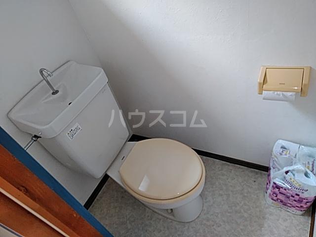 ハイツ八木下 7号室のトイレ
