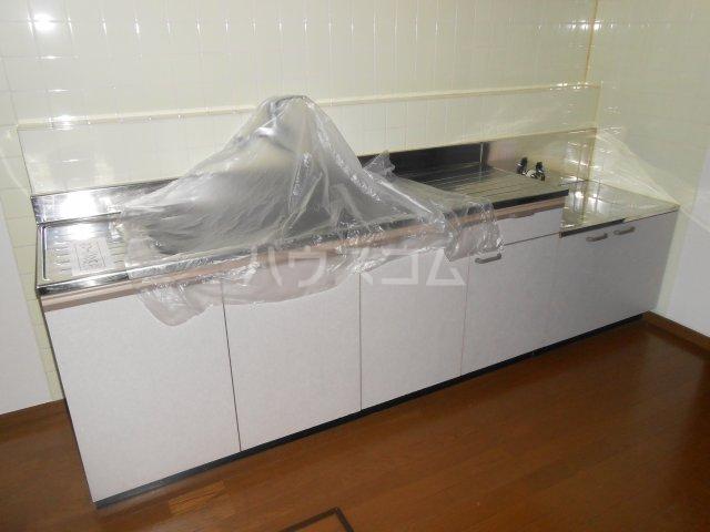 石井テラスハウスⅡのキッチン
