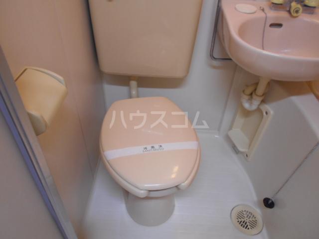 第三カトレアハイツ 3-C号室のトイレ