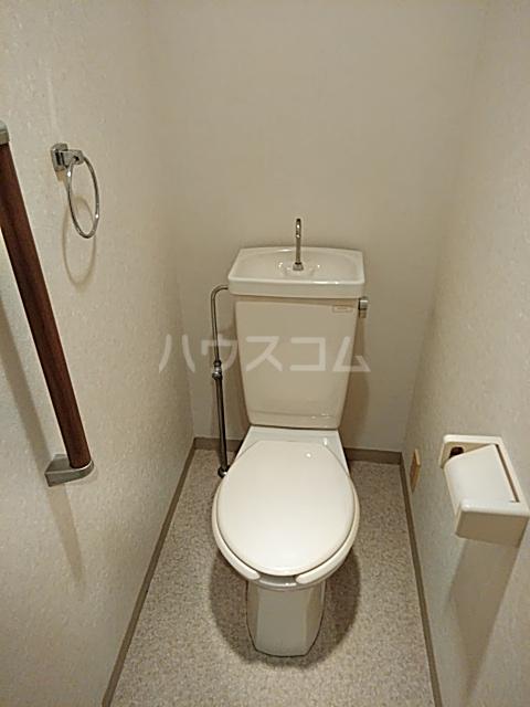 ピュアパレス 106号室のトイレ