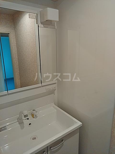 ピュアパレス 106号室の洗面所