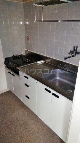 コンフォルト23 205号室のキッチン