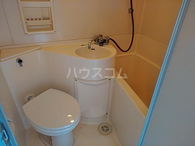 サザンノーブル上大岡 207号室のトイレ
