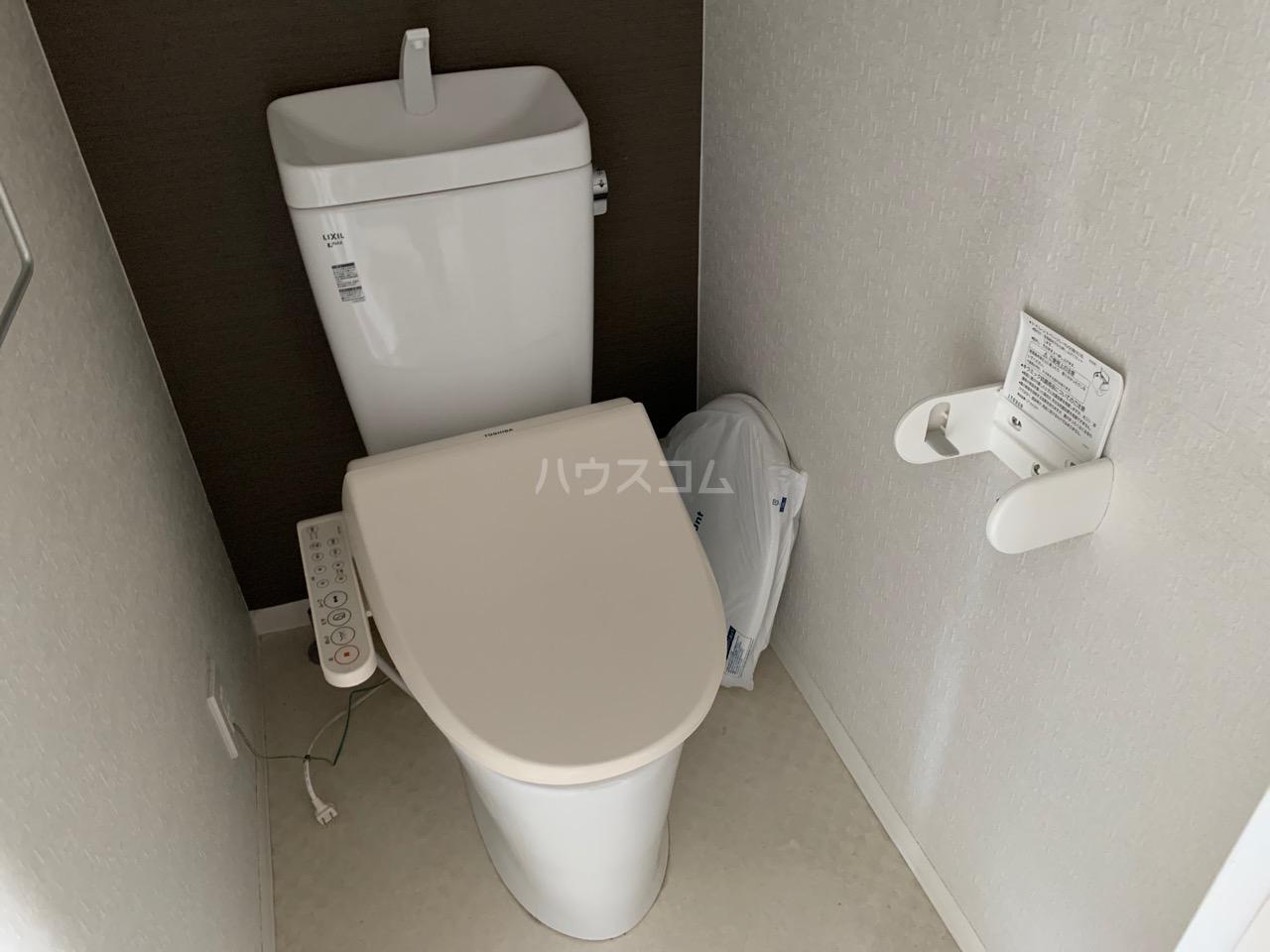 名瀬東ハイツ 101号室のトイレ