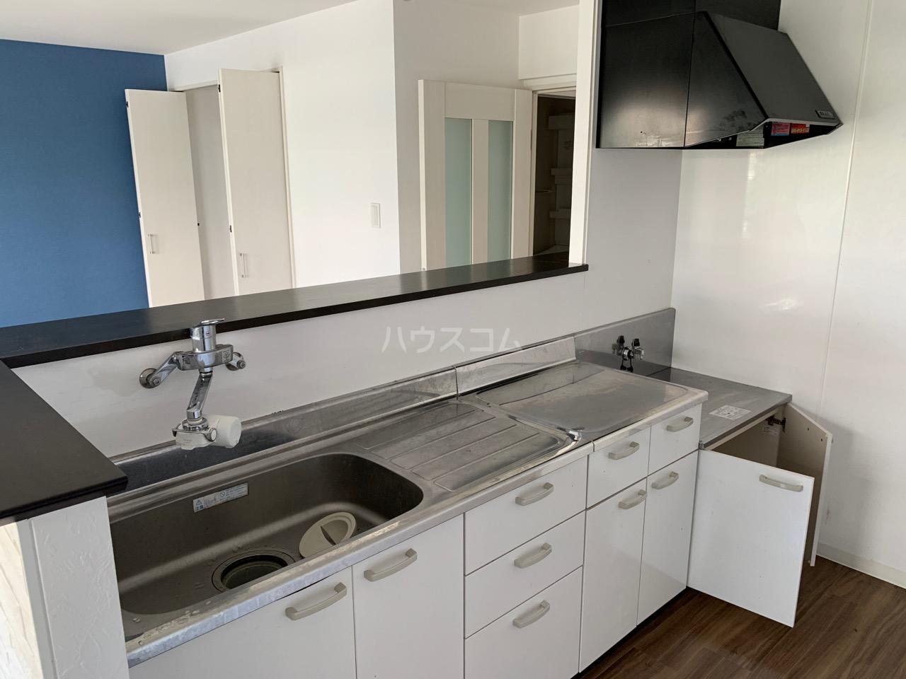 名瀬東ハイツ 101号室のキッチン