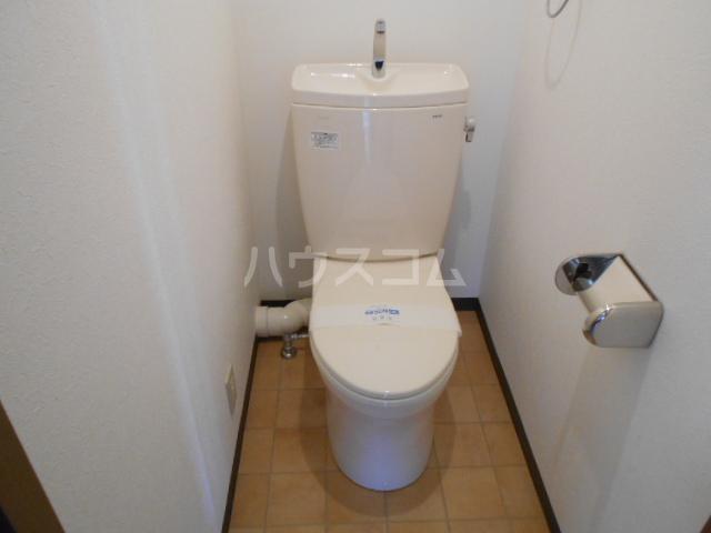 サンハイツホリウチ上倉田 201号室のトイレ
