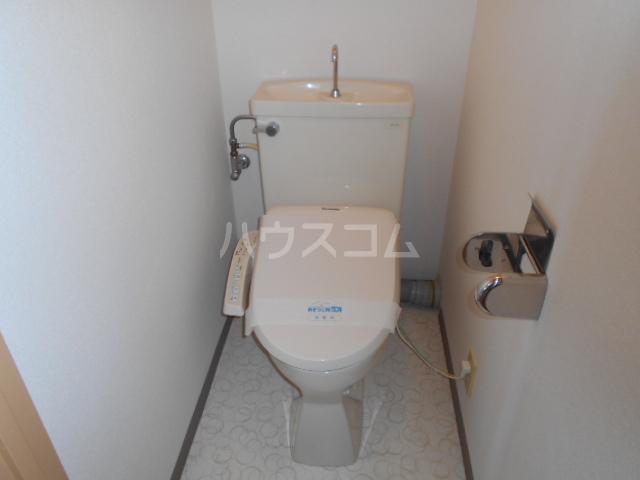 サンハイツホリウチ上倉田 302号室のトイレ