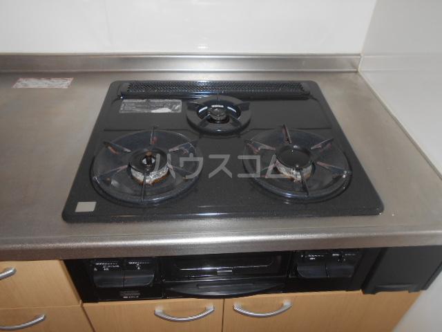 山口ホームビルA 4B号室のキッチン