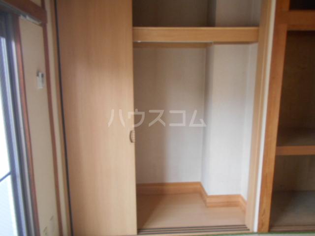 山口ホームビルA 4B号室の収納