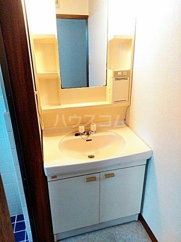 メイプルハイム 201号室の洗面所