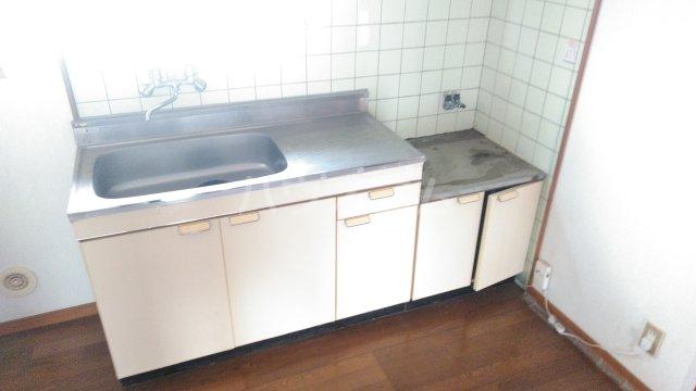 フローラル・ガーデンB 202号室のキッチン