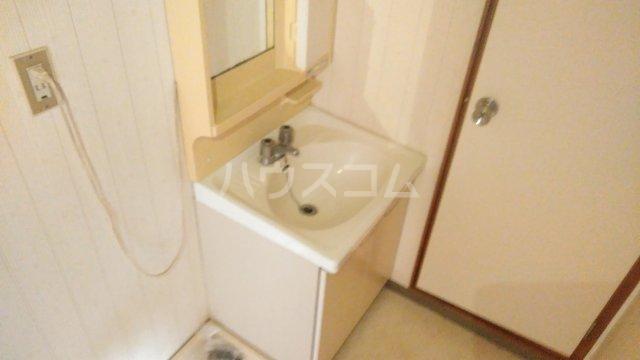 フローラル・ガーデンB 202号室の洗面所