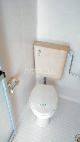 第2イーグルコーポ 202号室のトイレ