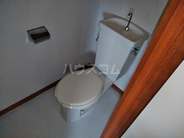 山登ハイツ 00201号室のトイレ