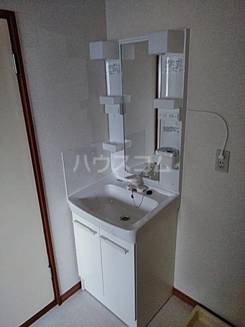 山登ハイツ 00201号室の洗面所