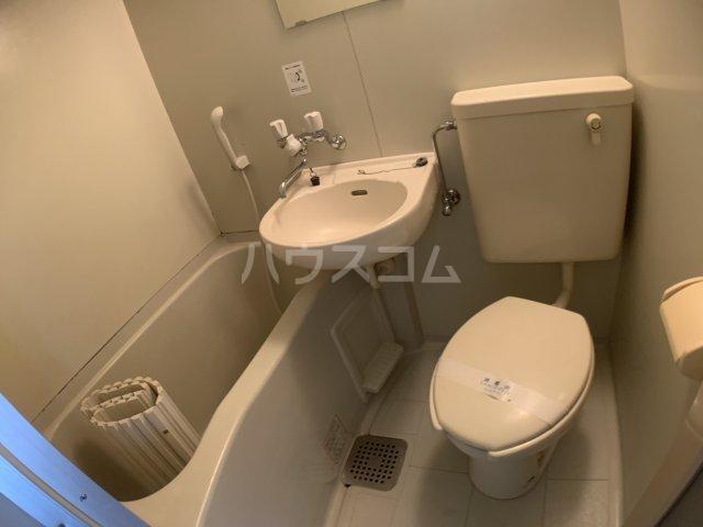 グランドハイム 203号室のトイレ