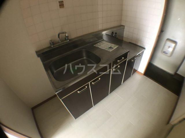 長沼田口ハイツ 302号室のキッチン