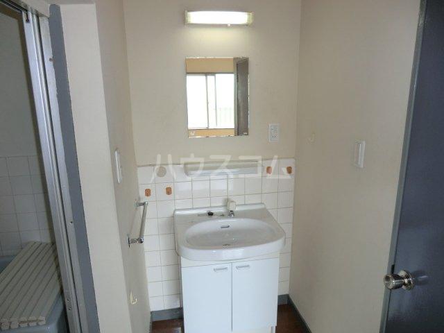 第2オパールマンション 13号室の洗面所